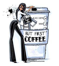 Coffee illustration by Emma Kenny