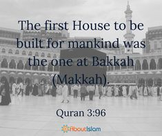 This was the first house for mankind!