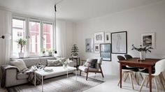 Dit appartement heeft dé perfecte gallery wall