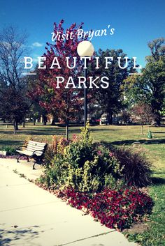 Bryan, Ohio, is home to eleven beautifully maintained parks. If you need a place for the kids to blow off some steam or if you just want to take a leisurely stroll, you can find the perfect spot in one of Bryan's parks.