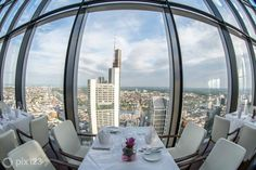 maintower-restaurant-lounge-frankfurt-google-maps-business-view Google Maps Business, Rhein Main Gebiet, Restaurant Lounge, World View, Virtual Tour, Location, San Francisco Skyline, The Good Place, Maine