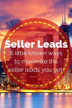 6 Little known ways to get more seller leads in your real estate business! #realestate