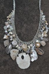 Rebecca Yeomans knitted necklace