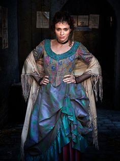 CHARLENE MCKENNA as Rose in Ripper Street Photographer: Amanda Searle
