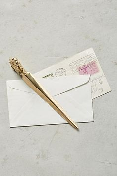 Snail Mail Letter Opener - anthropologie.com
