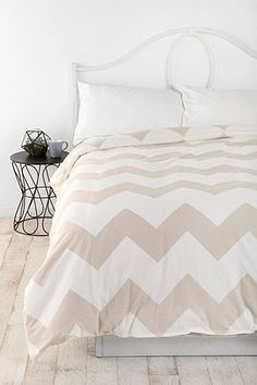 Chevron Duvet Cover::Spare Bedroom::