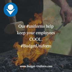 Our #uniforms help keep your employees COOL. #budgetuniform #overalls #coveralls