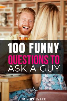 these funny questions to ask a guy are definitely good conversation starters! asked a few of these on my second date and we were dying laughing 100 Questions To Ask, Questions To Ask Your Boyfriend, Funny Questions, Relationship Goals Tumblr, Long Distance Relationship Gifts, Distance Gifts, Relationships, College Boyfriend, Boyfriend Humor