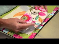 Tutorials with Kathy: Quilted Applique Letter Tutorial