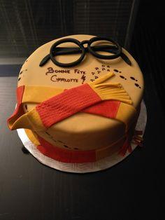 Simple Harry Potter Cake