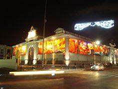 Así luce el Cosmovitral en las noches... Toluca