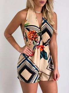 Girl Fashion, Fashion Dresses, Moda Chic, Casual Jumpsuit, Wrap Dress, Clothes For Women, Shorts, Sexy, Outfits