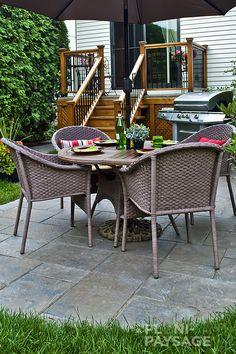 Outdoor Furniture, Outdoor Decor, Table, Design, Home Decor, Courtyards, Landscape Fabric, Landscape Planner, Home