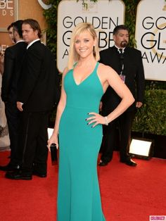 Reese Witherspoon {click to see a full gallery of #GoldenGlobes red carpet arrivals}