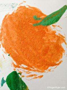 Como hacer pintura casera con textura o Puffy Paint