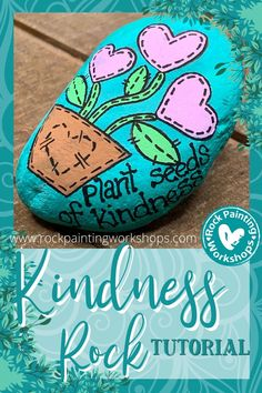 Rock Painting Patterns, Rock Painting Ideas Easy, Rock Painting Designs, Painting On Stones, Pebble Painting, Turtle Painted Rocks, Painted Rocks Kids, Stone Crafts, Rock Crafts