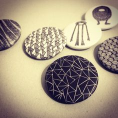 Buttons – Pattern by SMUCK.