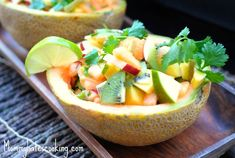 Tropical Salsa from @mommyhatescooking