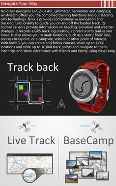 GARMIN fenix 3 GPS Watch - Home shopping for Smart Watches best cheap deals from a wide range of premium Smart Watches at: topsmartwatchesonline.com