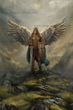 Archangel Michael Canvas