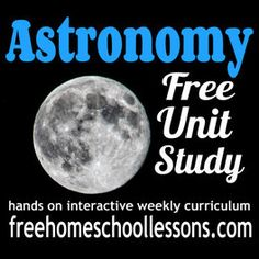 Astronomy Free Unit Study for Middle School