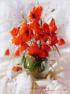 still-life-with-poppies-ramil-gappasov.jpg (519×700)