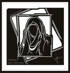 Hijab vector 3