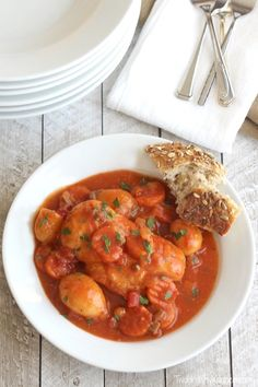 This crock pot chicken stew is so quick and easy with pantry staples and your slow cooker! Seriously delicious comfort food your family will love!