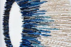 Julie Massie, Oval Edges, 2016,   H80×W80 cm, porcelain  Photo: Jay Simpson