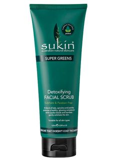 Sukin Super Greens Facial Scrub