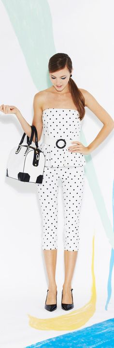 Alice + Olivia 2013 - dots for a hot day
