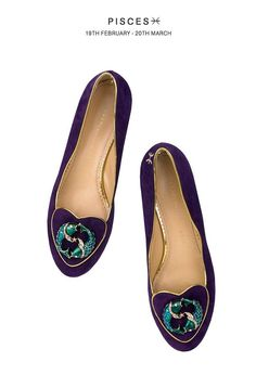 Charlotte Olympia Cosmic shoe collection - Pisces