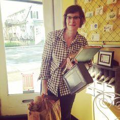 Ellen Schaeffer, resident artist at The Novel Neighbor