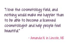 Cosmetologist Pull Quote 1