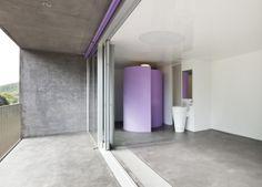 Pavimenti in cemento Lineavero: infinite possibilita di design