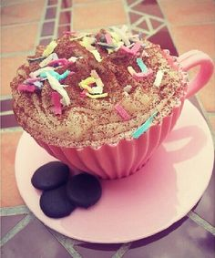 About Colours: Vegan Cupcakes *-*