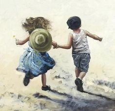 By Keith Proctor, from Northumberland, UK  - oil on canvas -