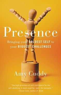 """In her new book, """"Presence,"""" Amy Cuddy says people quickly answer two questions when they first meet you."""