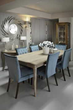art&deco - Termékek living room  dining room kitchen chairs airmchairs mirror mirrors sofa turquoise interior  desing home furniture lamp Dining Tables, Table And Chairs, Dining Room, Diningroom Ideas, Interior Desing, Interiors, Turquoise, Kitchen, Furniture