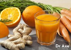 Juicing is an easy way to get heaps of veggies into your diet in one easy shot. This Orange Carrot Ginger Juice recipe comes highly recommended by kids.