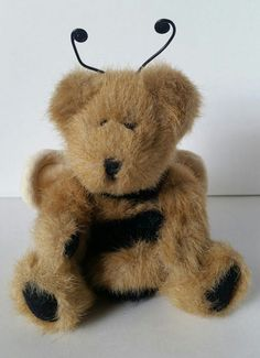 Boyds Bear plush bumble bee Retired