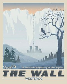 Westeros Travel Posters - Created by The Seventh Art Shop