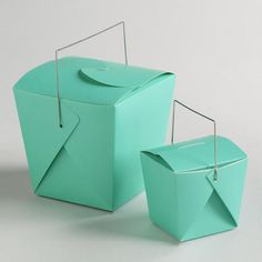 One of my favorite discoveries at WorldMarket.com: Florida Keys Take Out Boxes, Set of 4