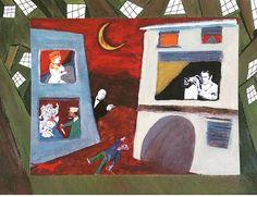 Rear Window (Broken Windows series) 2014 cm 25x35 #inkonpaper  #pencilonpaper #acryliconpaper #collageonpaper #movies #postermovie #hitchcock #hitchcockian #workonpaper #drawing #expressionism #monacoart #figurativeart #illustration  #brokenwindows #paperpaint #paperart #detournement