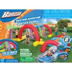 Find the Banzai Backyard Adventure Water Park by Banzai at Mills Fleet Farm.  Mills has low prices and great selection on all Outdoor Play.
