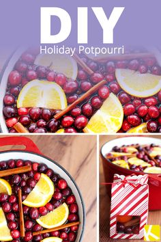 DIY Holiday Potpourri