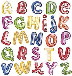 Recursos para maestros de Educación Infantil: Jugando con las letras