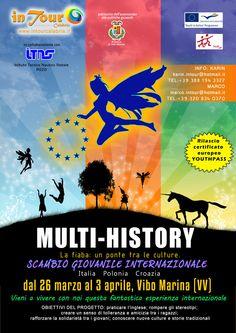 26th Mar-3rd Apr 2012 - Vibo Valentia Marina, Italy. Multi-History. Youth Exchange