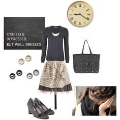 """Coffee Break"" by kaseyofthefields on Polyvore"