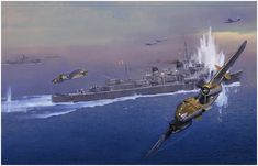 Pacific Powerhouse by Jack Fellows  B-25 Mitchells of the 5th USAAF, and Royal Australian Air Force Beaufighters attack Japanese shipping du...